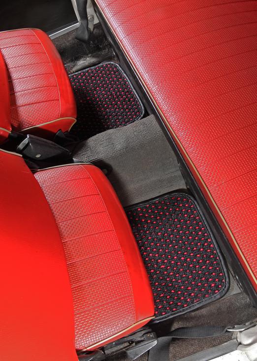 VW Beetle Car Floor Mats