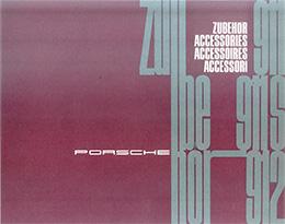 Porsche Catalogue Cover