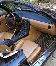 1992 Mazda Miata #02 Black and Natural