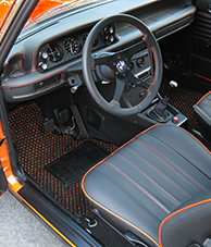 BMW 2002 - Coco #57 Black and Orange