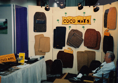 CocoMats.com first Sema Auto Show in 1996.