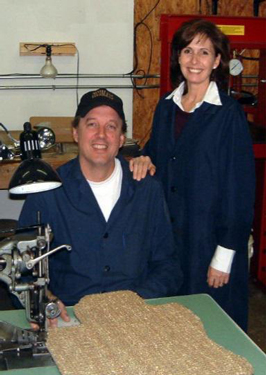 Co Founders Jeff and Deborah Allwine.