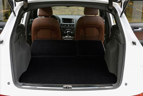 2010 Audi Q5 60-40 Split Mat & Trunk - Sisal #42 Black