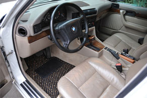 1995 BMW 525i Wagon - Coco #02 Black & Natural