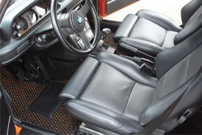 BMW 2002 - Coco #57 Black & Orange