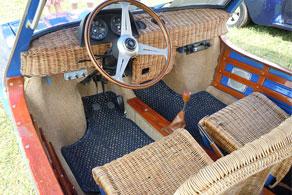 1969 Fiat 850 Shellette - Coco #04 Blue & Natural