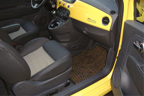 2012 Fiat 500 - Coco #52 Black & Yellow
