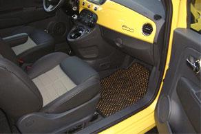 2012 Fiat 500 - Coco #52 Black & Yellow