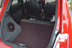 Custom Fiat Trunk - Coco #51 Black & Red