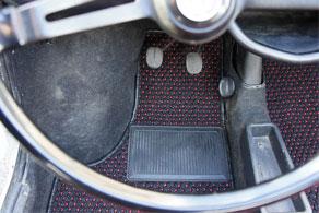 Vintage Fiat 500 - Coco #51 Black & Red