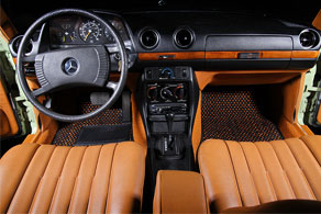 1977 Mercedes Benz 240D - Coco #57 Black & Orange
