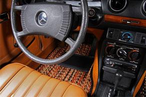 1977 Mercedes Benz 240D - Coco #91 Jaspe ( Calico )