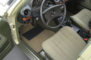1983 Mercedes Benz 240D - Sisal #49 Olive Green