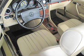 1986 Mercedes Benz 560SL - Coco #54 Black & Taupe