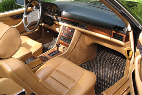 1988 Mercedes Benz 560SEC Conv. - Coco #02 Black & Natural