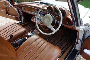 1970 Mercedes Benz 280SE RHD - Coco #91 Jaspe ( Calico )