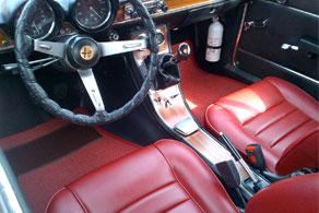 1969 Alfa Romeo 1750 GTV - Sisal #48 Red