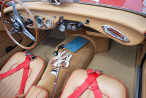 1960 Austin Healey 3000 - Sisal #41 Tan