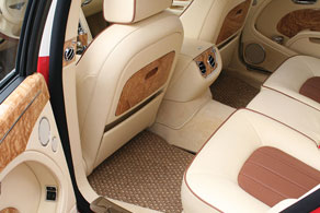 2012 Bentley Mulsanne - Coco #81 Beige & Cream