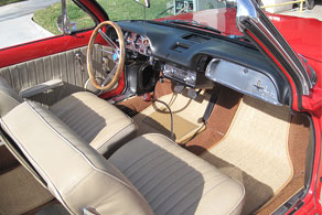 1962 Chevrolet Corvair Convertible - Sisal #41 Tan