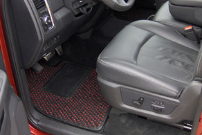 2011 Dodge Ram 2500 - Coco #51 Black & Red