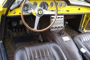 1960 Ferrari 250 GT - Coco #52 Black & Yellow