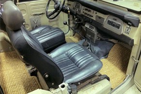 1974 Toyota FJ40 - SeaGrass #73 Large Weave