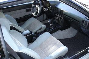 1984 Toyota Celica Supra - Coco #22 Black Herringbone