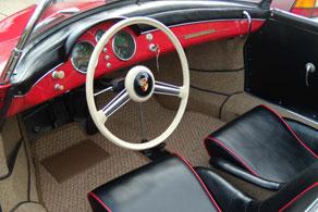 1955 Porsche Pre A Speedster - Coco #81 Beige & Creme