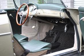 1958 Porsche Speedster - Coco #54 Black & Taupe