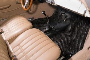 1963 Porsche 356 - Coco #54 Black & Taupe