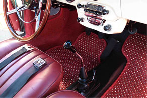 1964 Porsche 356 SC Cabriolet - Coco #11 Red & White