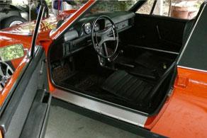 1973 Porsche 914 - Coco #57 Black & Orange