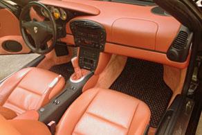 2001 Porsche Boxster S - Coco #56 Black & Terracotta