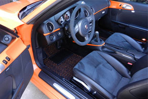 2008 Porsche Boxster S - Coco #57 Black & Orange