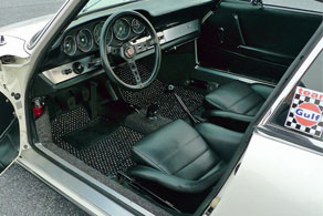 Vintage Porsche 911 - Coco #12 Black & White