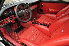 Vintage Porsche Singer 964 - Coco #11 Red & White