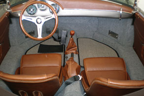 Vintage Porsche Speedster - Sisal #43 Grey