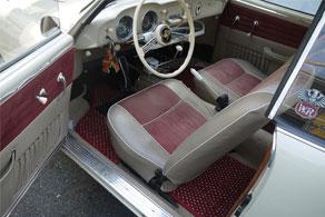 1956 VW Karmann Ghia - Coco #11 Red & White
