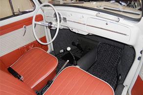 1964 VW Beetle - Coco #12 Black & White