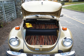 1974 VW Super Beetle Sun Bug - Coco #91 Jaspe ( Calico )