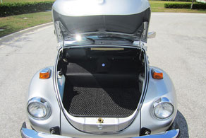 1979 VW Super Beetle Convertible - Coco #53 Black & Grey