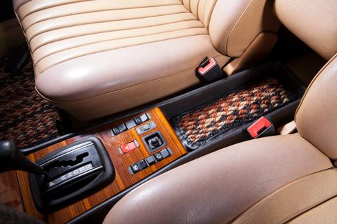 Jaspe Calico Coco #91 in a Mercedes-Benz W123
