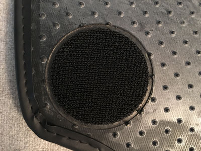 Car Floor Mat Attachment