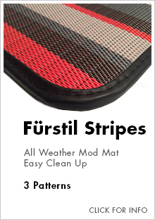 Link to for more information on Cocomats.com furstil stripes material