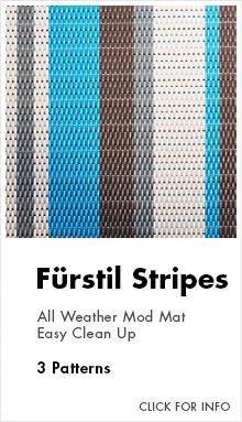 Link to for more information on Cocomats.com furstil stripes material