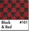 Red Checkered Car Mats