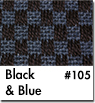 Blue Checkered Car Mats
