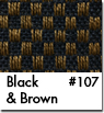 Brown Checkered Car Mats