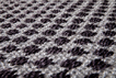 Grey Checker Car Mats
